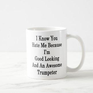 Ik weet u me haat omdat ik en Knap ben Koffiemok