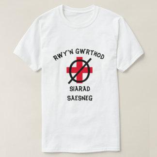 Ik weiger om het Engels in Bewoners van Wales te T Shirt