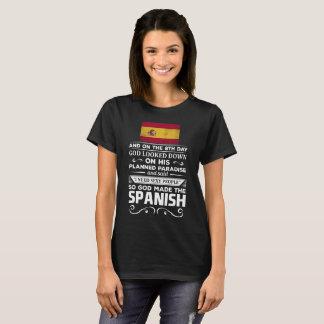 Ik wens de Sexy God van Mensen maakte de Spaanse T Shirt