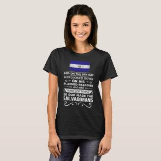 Ik wens de Sexy God van Mensen maakte Salvadorans T Shirt