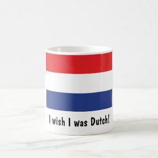 Ik wens dit ik Nederlands was! Basic Witte Mok