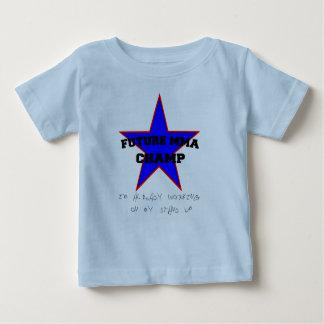 Ik werk reeds aan mijn Tribune op Overhemd Baby T Shirts
