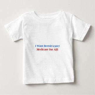 Ik wil Bernie-Zorg, Gezondheidszorg voor bejaarden Baby T Shirts