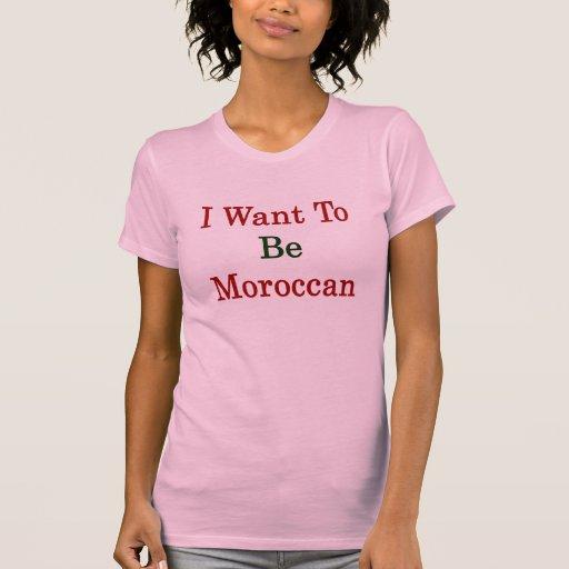 Ik wil Marokkaans zijn T-shirt