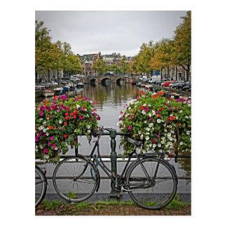 Ik wil Mijn Fiets in Amsterdam berijden - Briefkaart