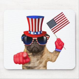 Ik wil u, pug, oomSAM hond, Muismat