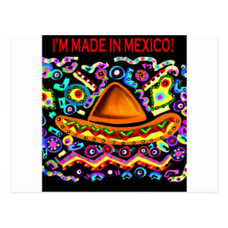 IK WORD GEMAAKT IN MEXICO BRIEFKAART