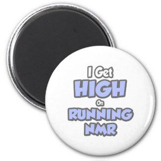 Ik word Hoog bij NMR Lopen Magneten