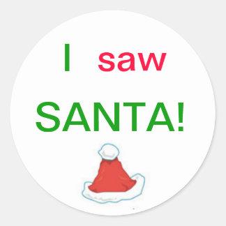 Ik zag de Stickers van de Kerstman