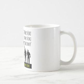 Ik zal Aftappen zweten & zal voor u sterven Koffiemok