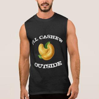 Ik zal Cachou buiten T T Shirt