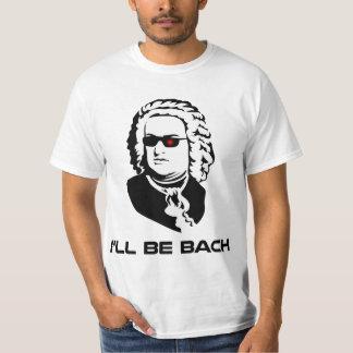 Ik zal Johann Sebastian Bach zijn T Shirt