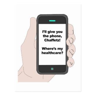 Ik zal u de Telefoon, waar ben Mijn Briefkaart