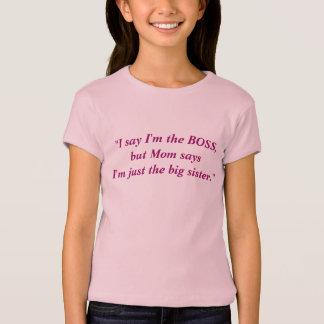 """""""Ik zeg ik de WERKGEVER ben, maar het Mamma zegt… T Shirt"""