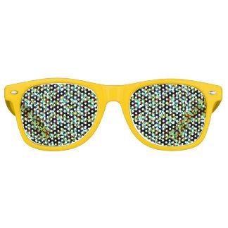 Ik zie diamanten retro zonnebril