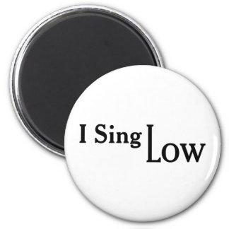 Ik zing laag koelkast magneetjes