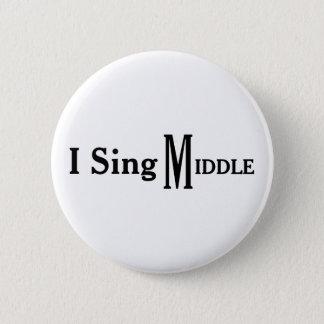 Ik zing Midden Ronde Button 5,7 Cm