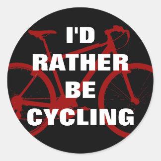 Ik zou eerder cirkelen ronde sticker