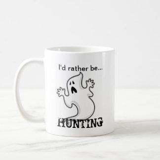 Ik zou eerder de Jacht van het Spook zijn Koffiemok
