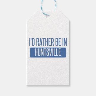 Ik zou eerder in AL van Huntsville zijn Cadeaulabel