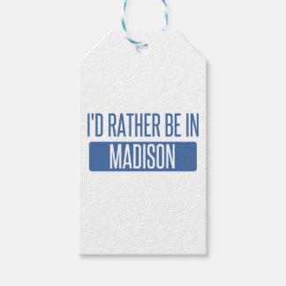 Ik zou eerder in AL van Madison zijn Cadeaulabel