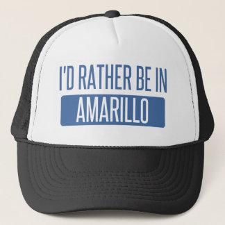 Ik zou eerder in Amarillo zijn Trucker Pet