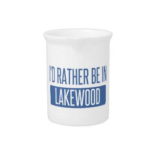 Ik zou eerder in Co Lakewood zijn Drank Pitcher