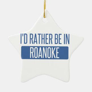 Ik zou eerder in de Heuvels van Rochester zijn Keramisch Ster Ornament