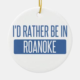Ik zou eerder in de Heuvels van Rochester zijn Rond Keramisch Ornament