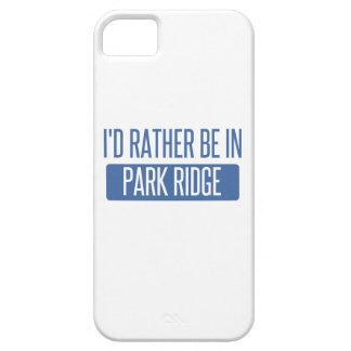 Ik zou eerder in de Rand van het Park zijn Barely There iPhone 5 Hoesje