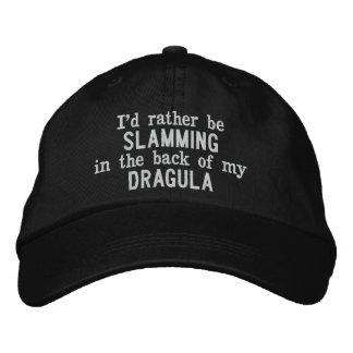 Ik zou eerder in de rug van mijn Dragula Pet