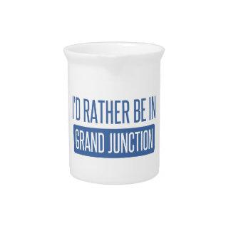 Ik zou eerder in Grand Junction zijn Drink Pitcher