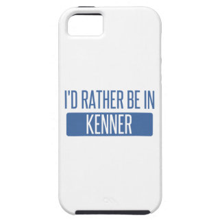 Ik zou eerder in Kenner zijn Tough iPhone 5 Hoesje