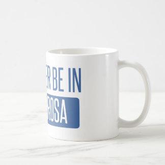 Ik zou eerder in Kerstman Rosa zijn Koffiemok