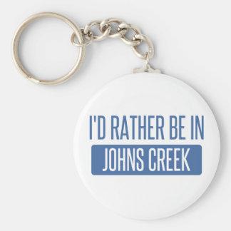 Ik zou eerder in Kreek Johns zijn Sleutelhanger