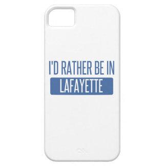Ik zou eerder in La van Lafayette zijn Barely There iPhone 5 Hoesje
