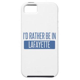 Ik zou eerder in La van Lafayette zijn Tough iPhone 5 Hoesje
