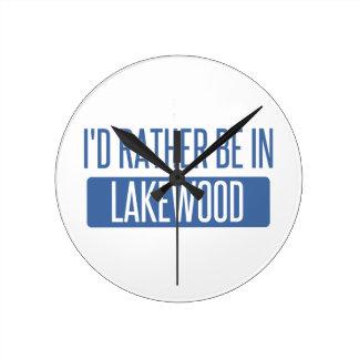 Ik zou eerder in Lakewood OH zijn Ronde Klok