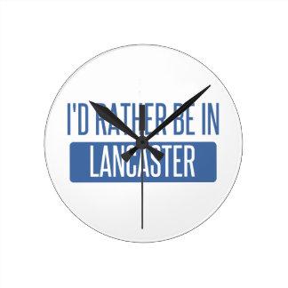 Ik zou eerder in Lancaster OH zijn Ronde Klok