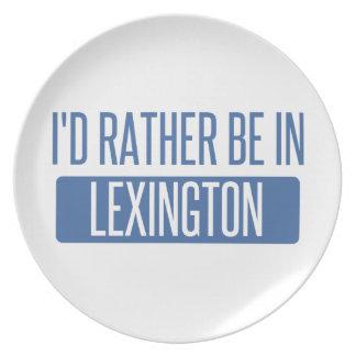 Ik zou eerder in Lexington zijn Melamine+bord