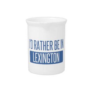 Ik zou eerder in Lexington zijn Pitcher