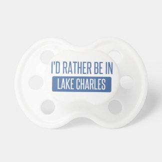 Ik zou eerder in Meer Charles zijn Fopspeentje