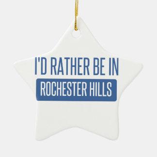Ik zou eerder in Mn van Rochester zijn Keramisch Ster Ornament