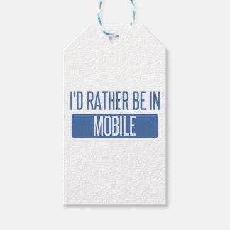 Ik zou eerder in Mobiel zijn Cadeaulabel