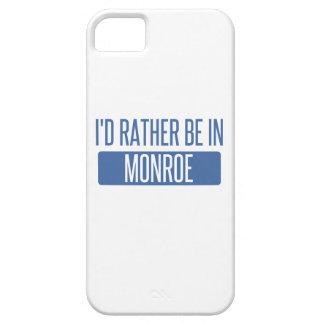 Ik zou eerder in Monroe zijn Barely There iPhone 5 Hoesje
