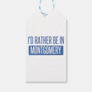 Ik zou eerder in Montgomery zijn Cadeaulabel