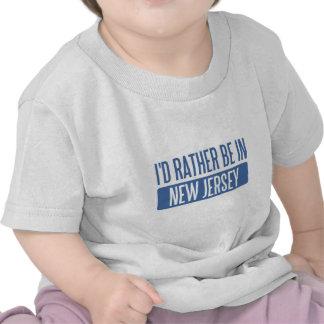 Ik zou eerder in New Jersey zijn T Shirt