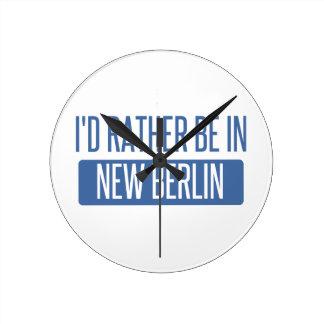 Ik zou eerder in Nieuw Berlijn zijn Ronde Klok