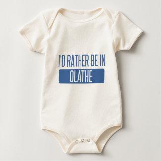 Ik zou eerder in Olathe zijn Baby Shirt