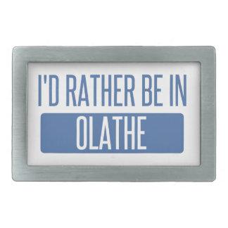 Ik zou eerder in Olathe zijn Gesp